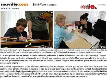 cours de maths Saint-Malo, cours de maths Dinan